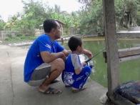 013 (bersama ayah)