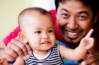 034(Foto anak bersama ayah)