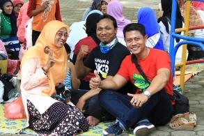 Narsis di acara KEB Bandung