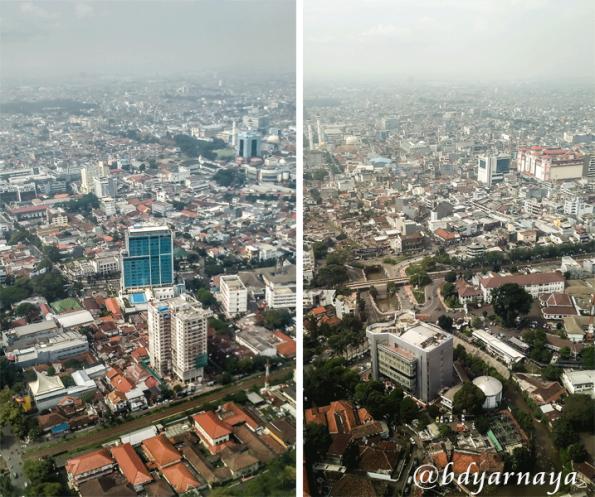 Kota Bandung dari Atas
