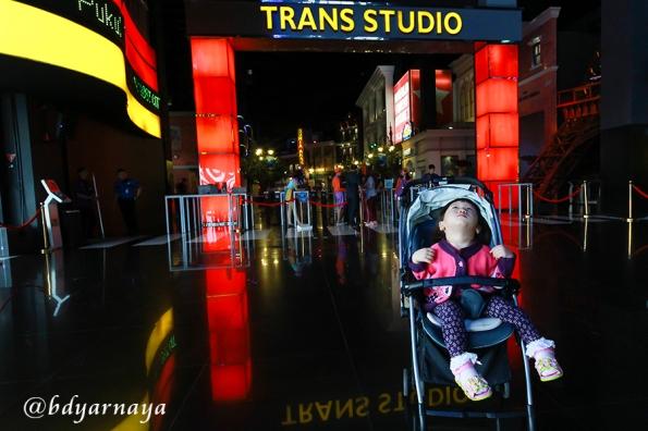 Sudut Trans Studio. Ibunya mana yach???